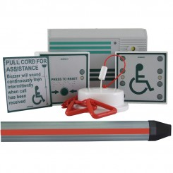 Aidalarm Disabled Toilet Alarm Kit with Panic Strip