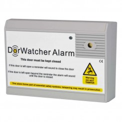 DorWatcher door held open alarm