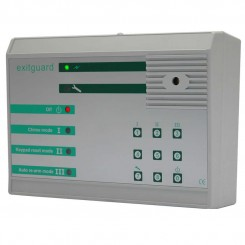 EXITGUARD door alarm with integral Keypad control