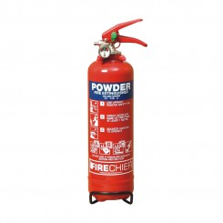 1kg Powder Firechief XTR Extinguisher 8A 34B C