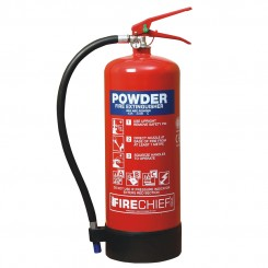 6kg Powder Firechief XTR Extinguisher 43A 233B C