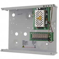 8 output 12vdc 5A PSU in a steel enclosure
