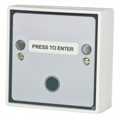 Multi function Press to Enter button c/w green LED & sounder