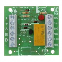 Transistorised double pole relay module NPN version