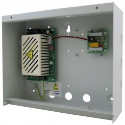 S312T relay module in a steel enclosure with a 2A 12vdc PSU