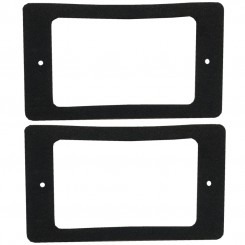 Weather gasket for DOUBLE gang switch - 2 per pack s/a backed