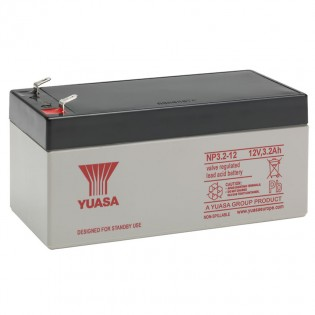 Rechargeable sealed 12v 3.3Ahr lead acid battery