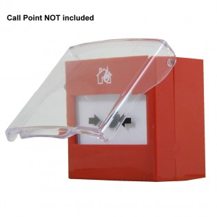 Integral cover for STI Resettable call points