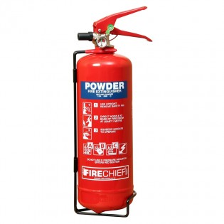 2kg Powder Firechief XTR Extinguisher 13A 89B C