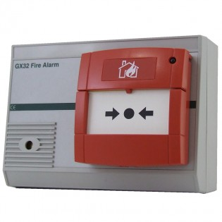 Fire Alarm Call Point/Sounder for GX32 System