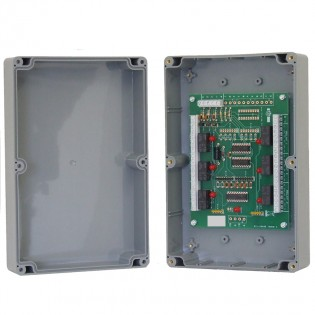 Boxed 6 Way Relay Interface for Multiguard Indicators