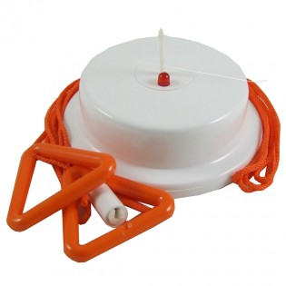 Orange Ceiling Pull Switch 2.5m
