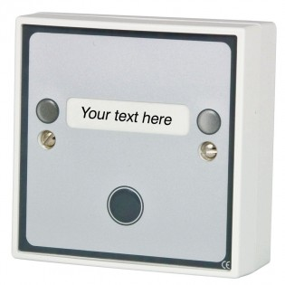Multi Function Push Button with LED Sounder and Custom Text