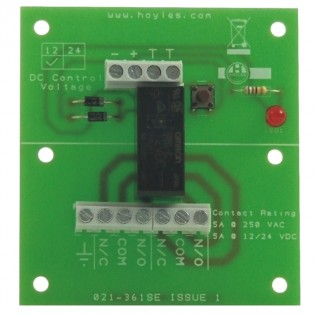 Double Pole Relay Module 5A contacts