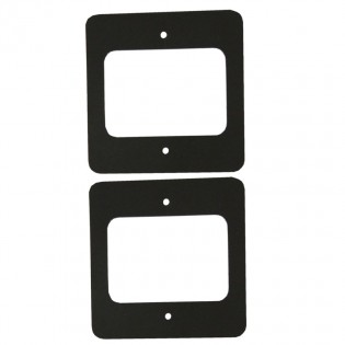 Weather gasket for SINGLE gang switch - 2 per pack s/a backed