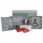 Aidalarm Mains Powered Disabled Toilet Alarm Kit