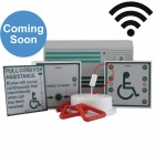 Wireless Disabled Toilet Alarm Kit - Battery Powered Control