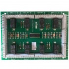 8 x transistorised double pole relay modules on a single PCB