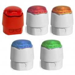Various Coloured 32 Tone Sounder Strobe with Deep Base