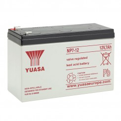 Rechargeable 12v 7.0Ahr sealed lead acid battery