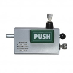PUSH model Cooperbolt with alarm silence