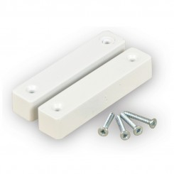 Standard door contact surface mount - white