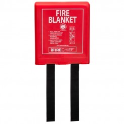 Fire Blanket - 1.1m x 1.1m Silicone Coated