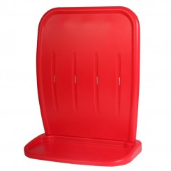 Double Extinguisher Stand-Red Two part moulded