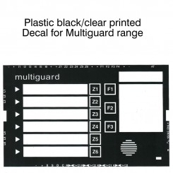 Replacement Facia pack for Multiguard range of products