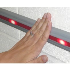Dado Panic and Affray Switch Strip with LED Illumination
