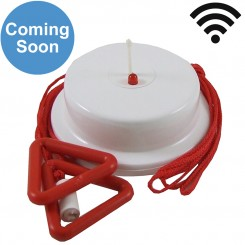 Wireless Red Ceiling Pull Switch 2.5m