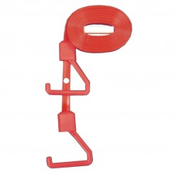 Red - 3m REPLACEMENT Anti - Ligature hygienic pull cord