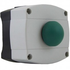 Green Dome Push Button Surface Mount IP66 Rated