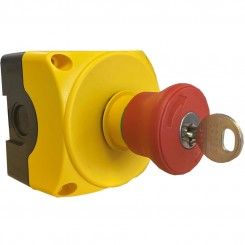 Push on/key reset push button Surface Mount IP69K Rated
