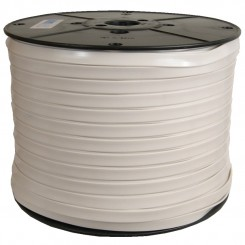 300M White Sanipull anti-ligature ribbon on a reel