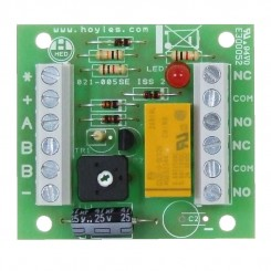 Transistorised double pole timer relay module