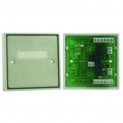 Boxed Dual Double Pole Relay Module