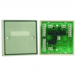 Boxed Tri Double Pole Relay Module