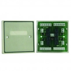 Boxed Quad Double Pole Relay Module