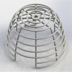 Smoke Detector Smart+Cage Surface mount