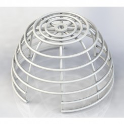 Smoke Detector Smart+Cage Flush mount