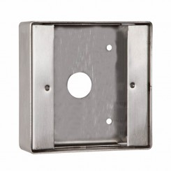 Stainless steel back box vandal resistant